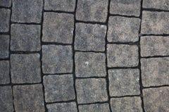 Adoquín, piedra de pavimentación Imagen de archivo libre de regalías