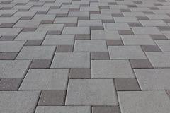 Adoquín, piedra de pavimentación Foto de archivo libre de regalías