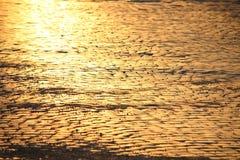 Adoquines en la puesta del sol Foto de archivo