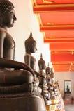 Adoração buddha Foto de Stock