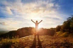 Adoração e elogio Foto de Stock Royalty Free