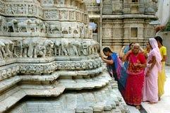 Adoração para o deus, templo de Jagdish Fotos de Stock