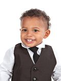 Adorable African American Boy Wearing Formal Stock Images