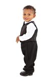 Adorable African American Boy Wearing Formal Royalty Free Stock Image