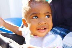 Adorable african american girl Stock Photo