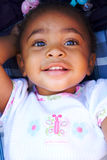 Adorable african american girl Royalty Free Stock Image