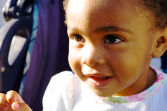 Adorable african american girl Royalty Free Stock Photography
