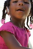 Adorable african american girl Stock Image