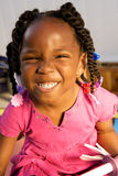 Adorable african american girl Royalty Free Stock Photos