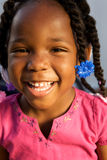 Adorable african american girl Stock Photography