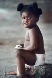 Adorable african baby Royalty Free Stock Images