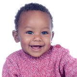 Adorable african baby smiling Royalty Free Stock Photos