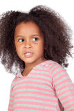 Adorable african little girl Stock Photography