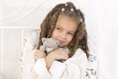 Adorable african little girl Stock Photos