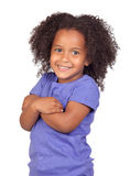 Adorable african little girl with beautiful hairst Stock Images