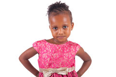 Adorable african little girl Royalty Free Stock Photo