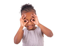 Adorable african little girl Royalty Free Stock Photography