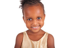 Adorable african little girl Royalty Free Stock Image