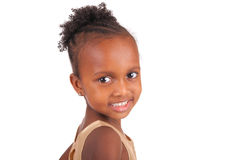 Adorable african little girl Royalty Free Stock Photos