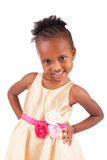 Adorable african little girl Stock Images
