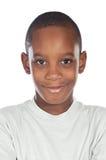 Adorable african preadolescent Stock Photography