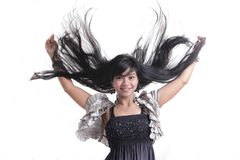 Adorable asian girl Stock Photography
