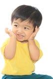 Adorable Asian kid Royalty Free Stock Image
