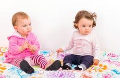 Adorable babies Stock Photo