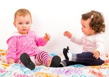 Adorable babies Stock Image