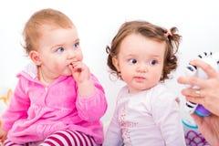 Adorable babies Royalty Free Stock Photos