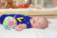 An adorable baby Royalty Free Stock Photography