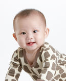Adorable baby. Baby smile to the camera, studio shot Stock Photo