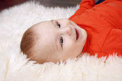 Adorable baby boy Stock Photography