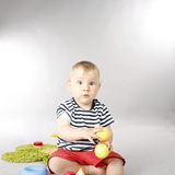 Adorable baby boy Stock Image