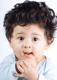 Adorable baby boy Royalty Free Stock Photos