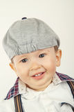 Adorable baby boy with hat Stock Photo