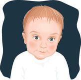 Adorable baby boy portrait Royalty Free Stock Photo