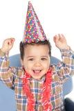 Adorable baby celebrating the birthday Stock Photo