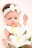 Adorable baby girl Stock Image