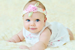 Free Adorable Baby Girl Stock Photography - 23374522