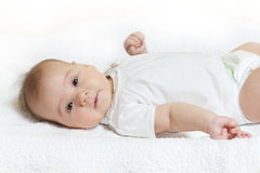 Adorable baby girl Royalty Free Stock Image