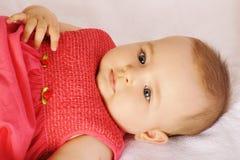 Adorable baby girl Stock Photography