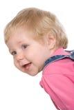 Adorable baby girl Stock Photos