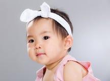 Adorable baby girl Royalty Free Stock Photos