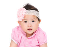 Adorable baby girl royalty free stock images