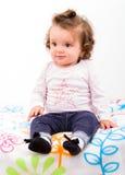 Adorable baby girl Royalty Free Stock Photo