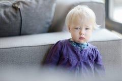 Adorable baby girl portrait Stock Photography