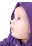 Adorable baby girl Stock Photos