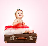 Adorable baby girl portrait Royalty Free Stock Photo