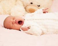 Adorable baby newborn Stock Photography